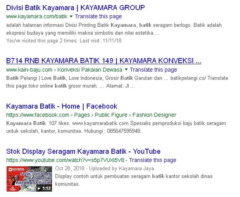 listing kayamara