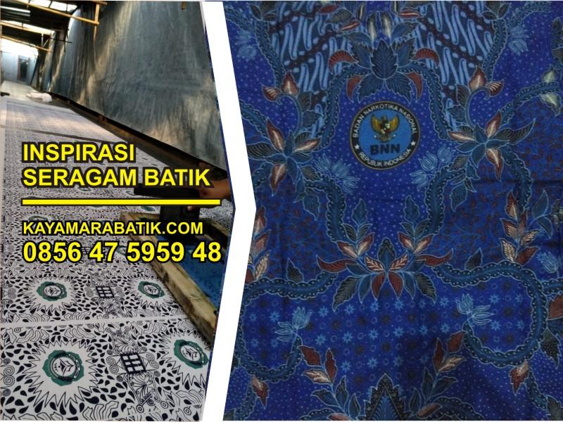 Thum seragam batik BNN
