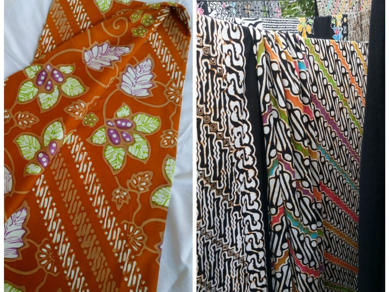 batik cap seragam