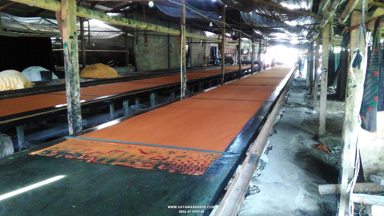 Seragam batik pabrik sragen