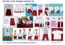 Produksi seragam batik sekolah sd